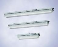 Светильник для  люминесцентных ламп,  серия EXLUX 6000 (зона 1),  серия EXLUX 6400  (зоны 2, 21 и 22)