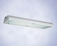 Светильник из листовой стали,  серия 6014 (зоны 1 и 2, 21 и 22)  серия 6414 (зоны 2, 21 и 22)