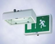 Компактные аварийные  светильники из листовой  стали, 6118 (зона 1), 6518 (зоны 2, 21, 22)
