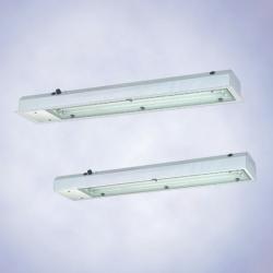 Аварийные светильники из  листовой стали,  серия 6018 (зона 1),  серия 6418 (зона 2, 21 и 22)