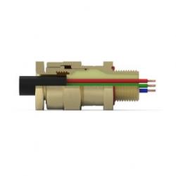 Кабельный ввод типа CR-X* (одинарное уплотнение для небронированных кабелей)