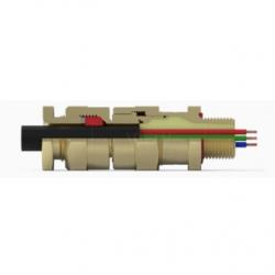 Кабельный ввод типа CR-U* (с двойным уплотнением для небронированных кабелей)