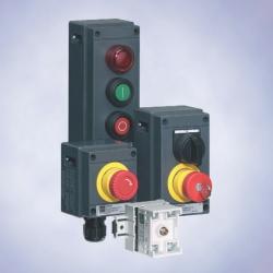 Система командных приборов,  серия ConSig 8040,  оснащение контактными  элементами 8208
