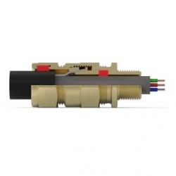 Кабельный ввод типа Е***F  (Двойное уплотнение для бронированных кабелей)