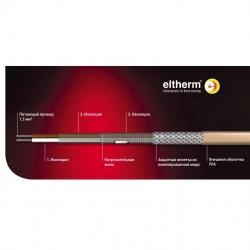 Нагревательный кабель параллельный резистивный ELP/PFA до 260 °C