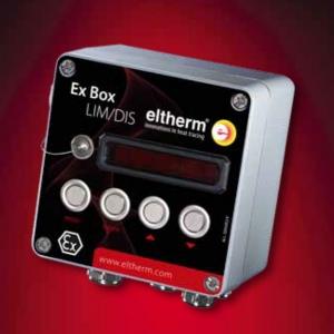 Ограничитель Ex-Box с дисплеем Тип Ex-Box LIM/DIS