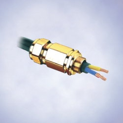 Кабельные вводы Ex d и Ex e для всех видов армирования кабелей со  свинцовой оболочкой, серия 8163/2-E2FU