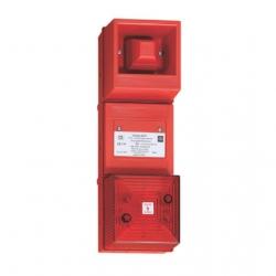 Искробезопасный комбинированный сигнал - 100 дБ (A) / светодиодный светильник Серия YL4IS