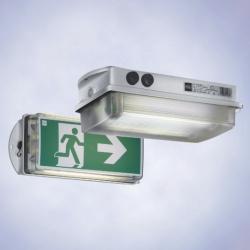 Компактный аварийный  светильник,  серия C-LUX 6108