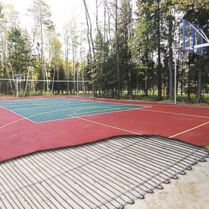 Что дает кабельная система обогрева спортивного поля?